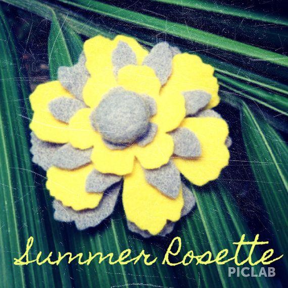 Summer Rosette