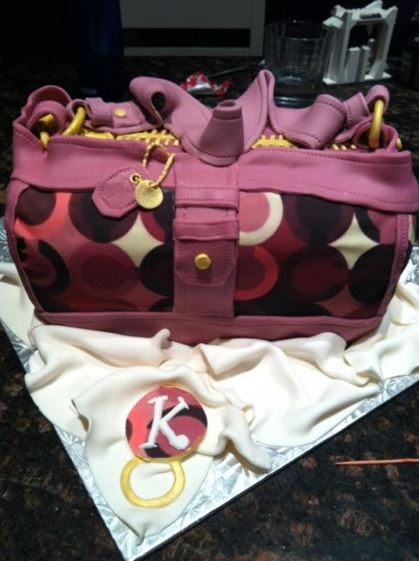 Coach Purse. I WANT THIS CAKE