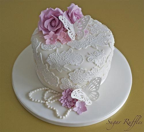pastel de cumpleaños vintage - Buscar con Google