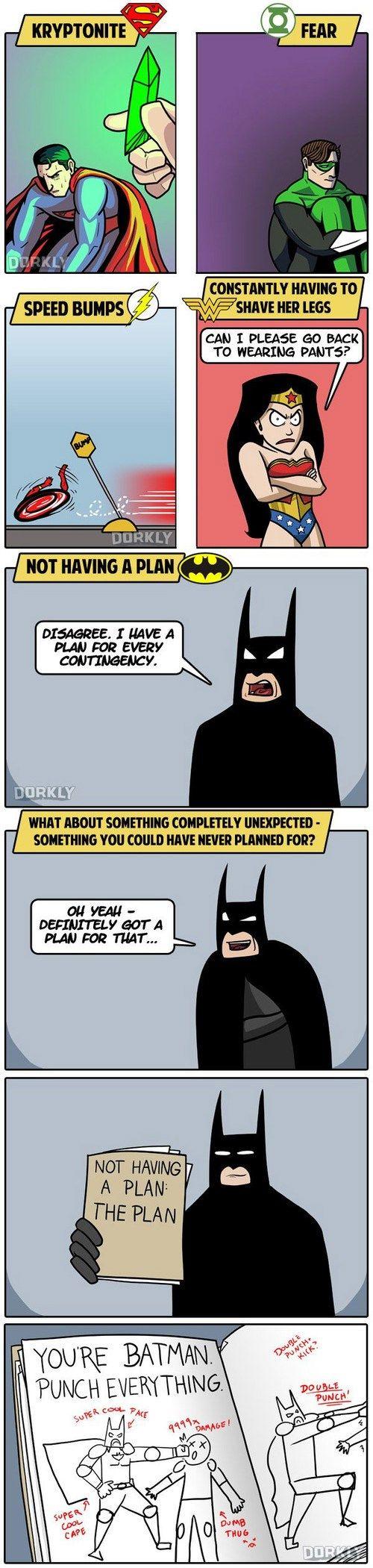 Even Batman Has a Weakness