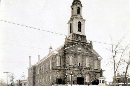 Levis Quebec | Église Notre Dame de la Victoire, construite en... (Archives Le ...
