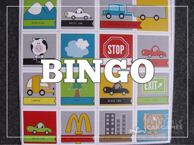 Bingo car game at kiki and company