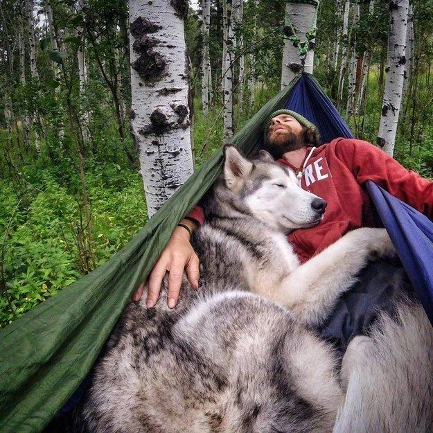"""We adventure merely because we enjoy it,"" Lund tells BuzzFeed. ""Loki more than me probably."" 