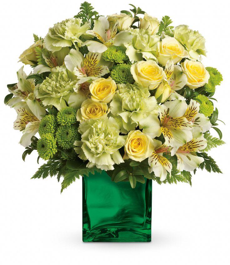 Spring - Emerald Elegance - Flowerama Columbus - Columbus Florist - Same Day Flower Delivery