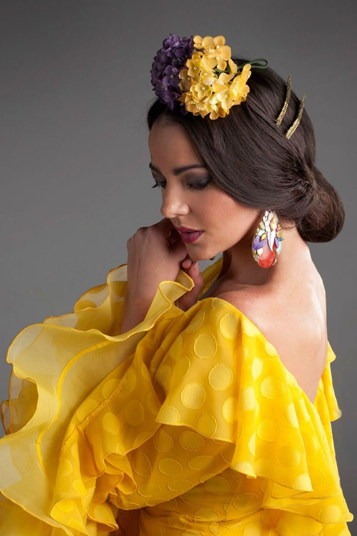 143 Best Hairmake Up For Flamenca Fashion Images On Pinterest