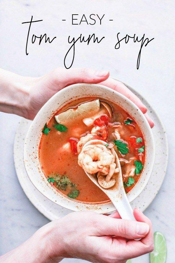 Tom Yum Soup {Tom Yum Goong Nam Khon} | Killing Thyme