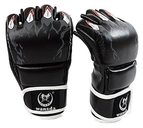 CCJJ Upgraded version boxing gloves  MMA gloves  MMA half fighting fighting Boxing GlovesCompetition Boxing Training -- Details can be found by clicking on the image.