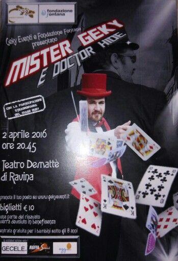 Magia e spettacolo.  A Trento il 2 aprile.