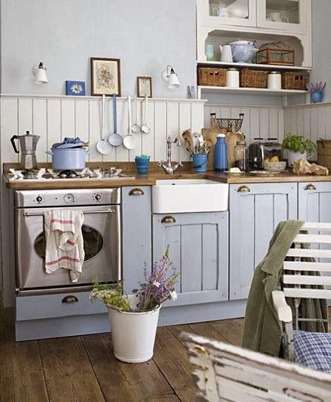 Virlova style deco el campo entra en la cocina ideas cocina - Virlova style ...