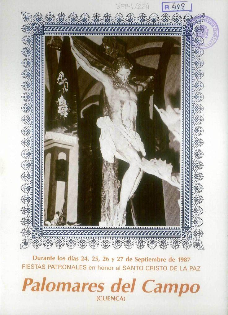 Fiestas en honor al Cristo de la Paz en Palomares del Campo (Cuenca). Del 24 al 27 de septiembre de 1987. Juego de harina y carrera de sillas. #Fiestaspopulares #PalomaresdelCampo #Cuenca