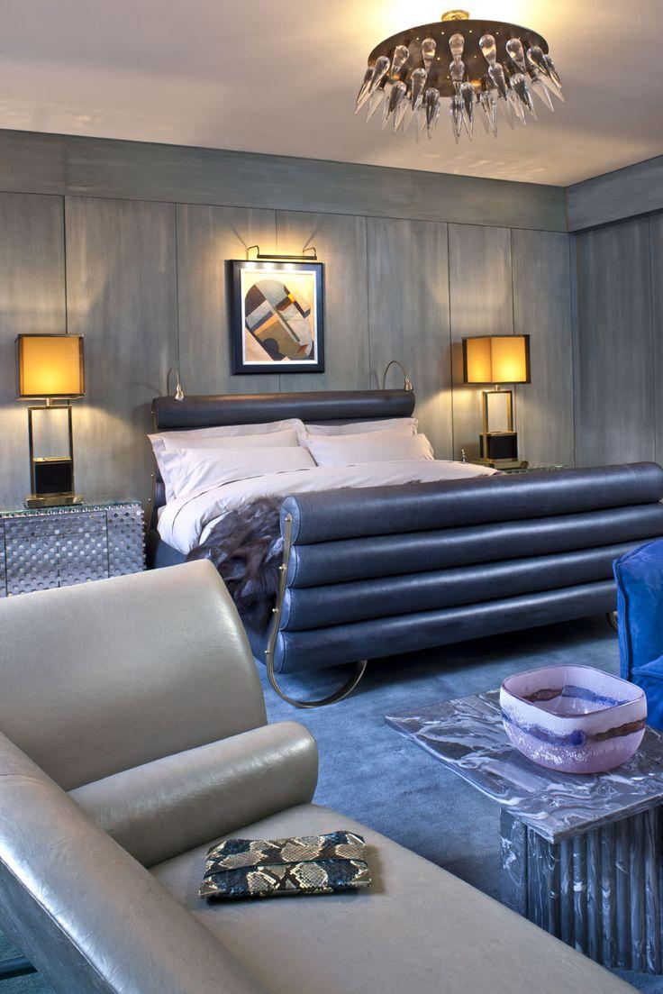 KELLY WEARSTLER   INTERIORS. Tribeca Loft, Master Bedroom