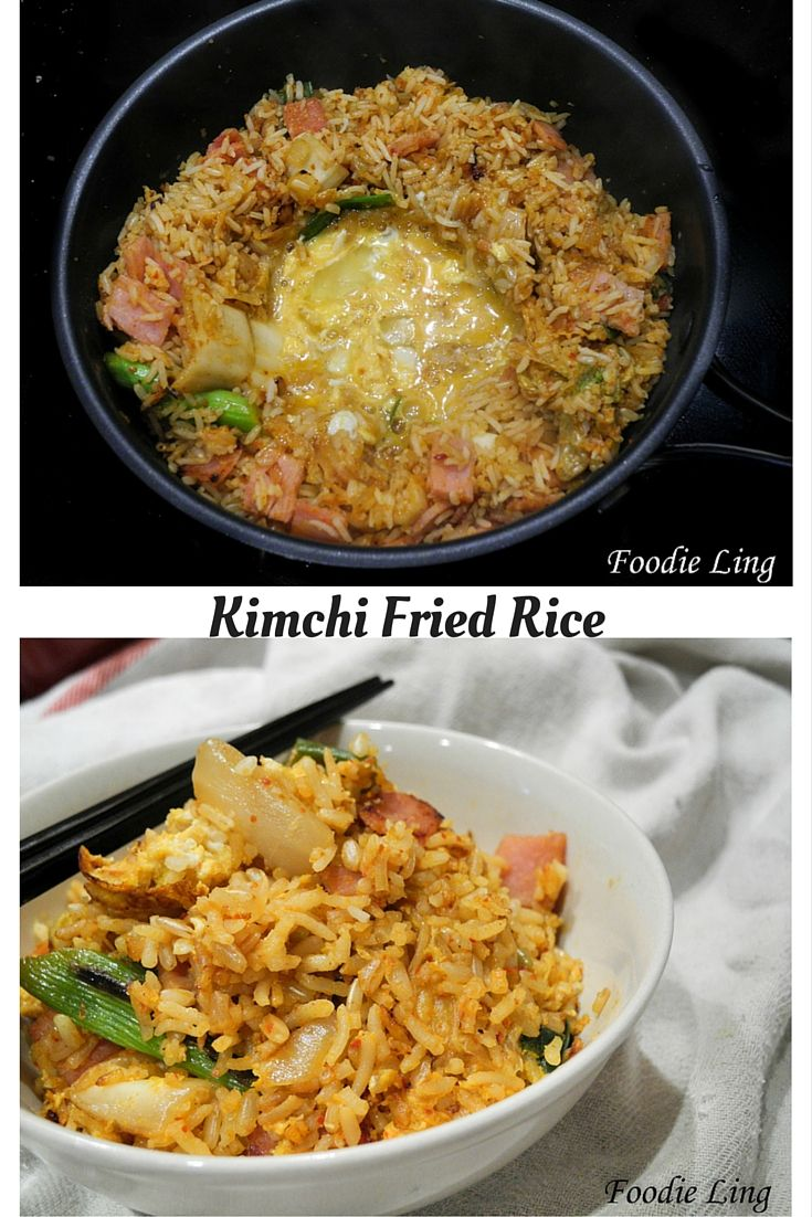 If you've got some extra Kimchi this quick and easy recipe is de-lish!