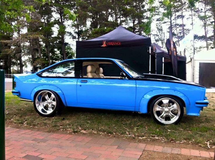 One of the nicest Torana's I've seen, and an awesome colour!!