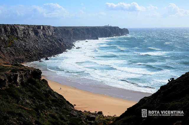 Telheiro beach by Rota Vicentina, via Flickr, Portugal #RotaVicentina