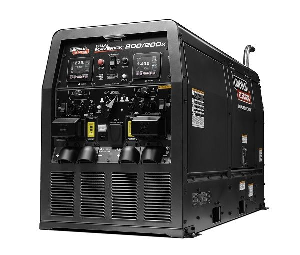 Lincoln Electric Launches New Dual Maverick 200 200x In 2020 Welder Generator Lincoln Electricity