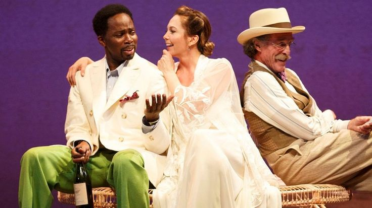Big bro on Broadway in The Cherry Orchard with Diane Lane