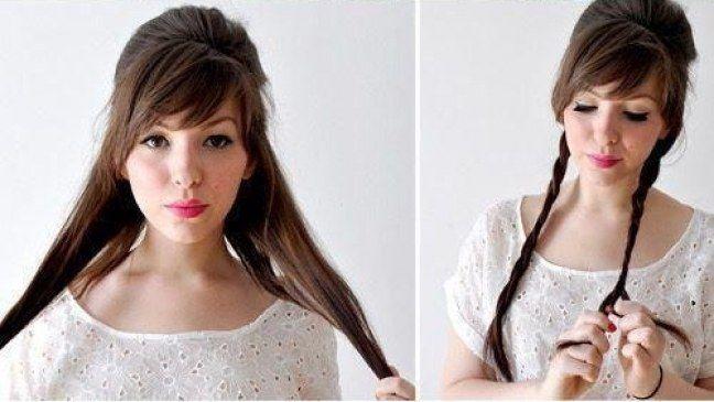 #Tutoriales de peinado inspirados en las Princesas #Disney ¿Cómo hacerse el #moño de Cenicienta? #DIY #hairstyle #peinados
