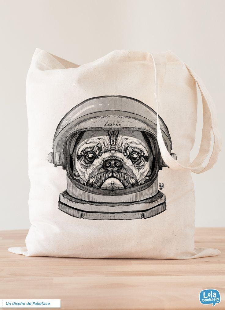 Pug Astronauta, de Fakeface