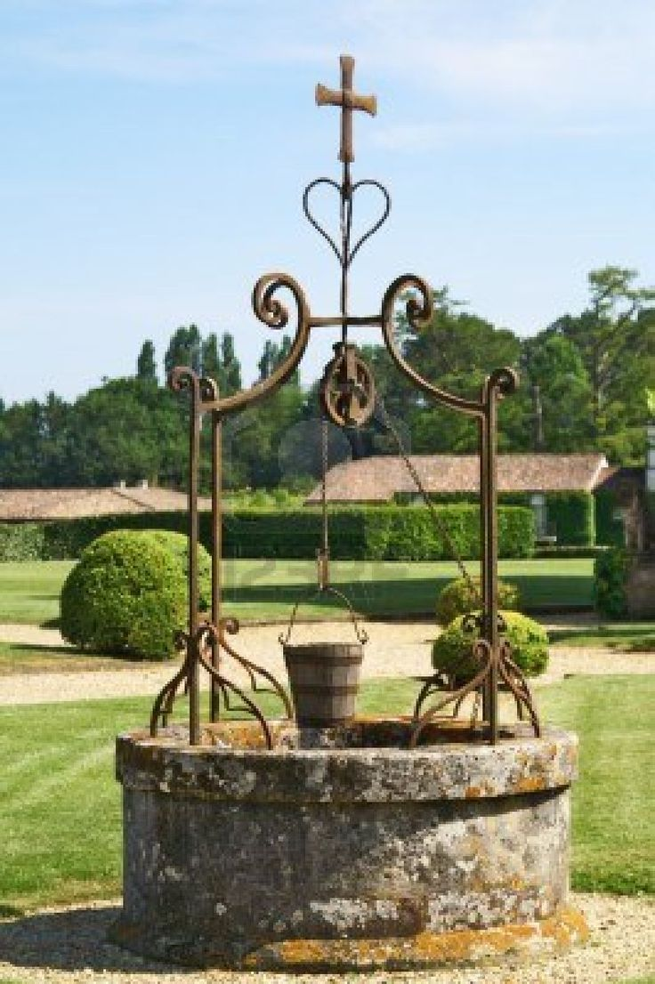 Old Wishing Well Wishing Wells And Fountains Pinterest Wells Belv D Re Et Fers