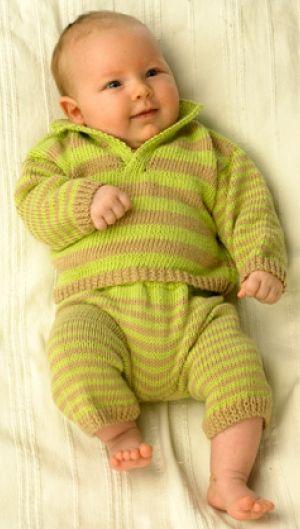 Stribet babysæt   Familie Journal