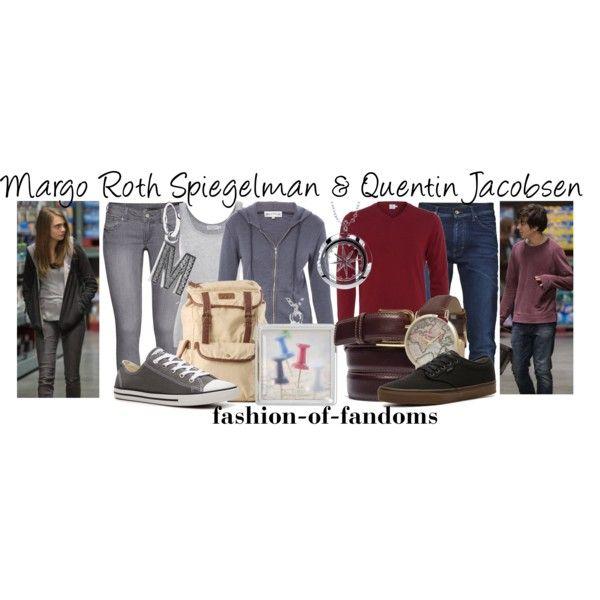 Margo Roth Spiegelman and Quentin Jacobsen Buy it...   Fandom Fashion