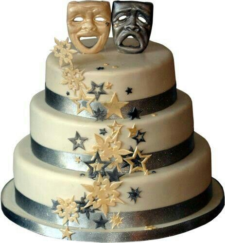 33 Best Theatre/Show Themed Cakes Images On Pinterest