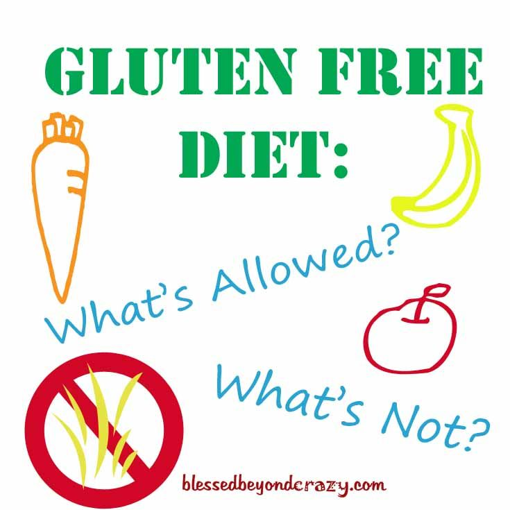 Gluten Free Diet: What's allowed, what's not? All your questions answered! From blessedbeyondcrazy.com