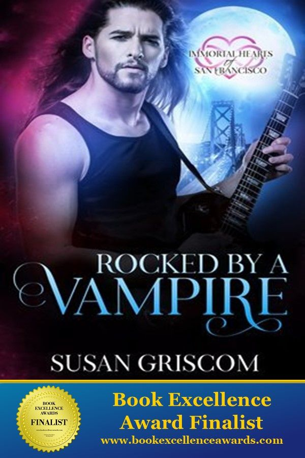 2018 Book Excellence Award Finalist - Rocked By A Vampire