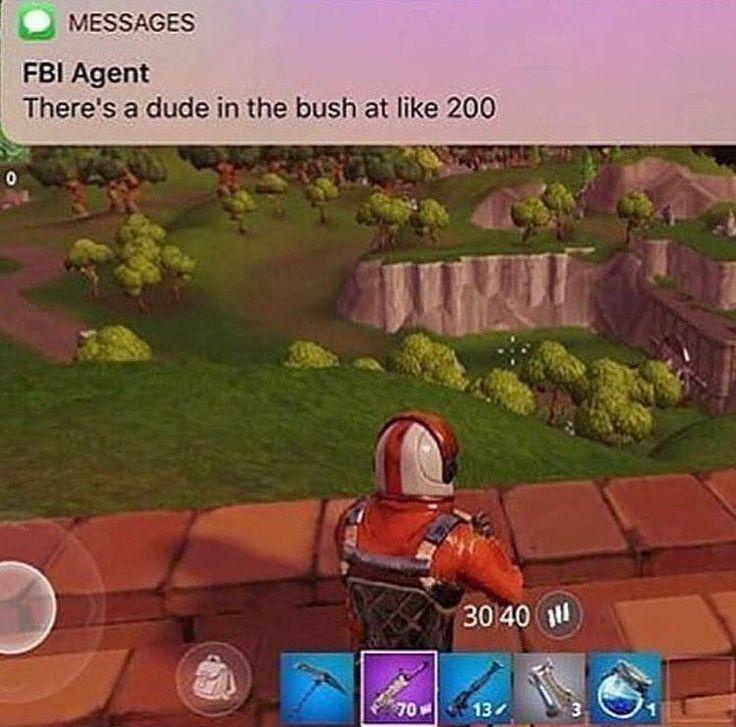 fbi agent fortnite meme