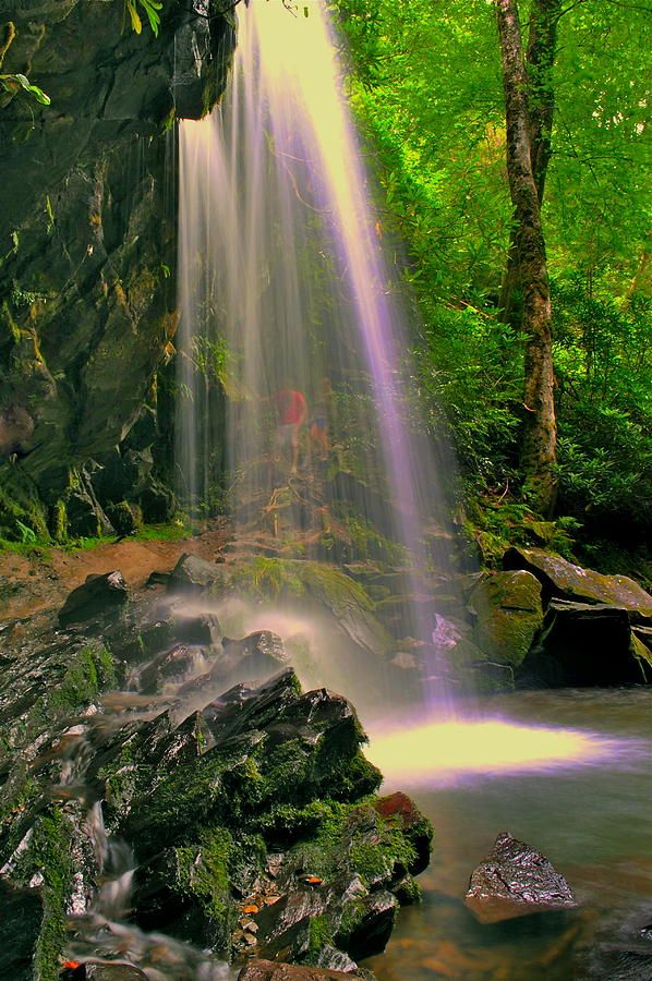 Grotto Falls in the Smoky Mountains