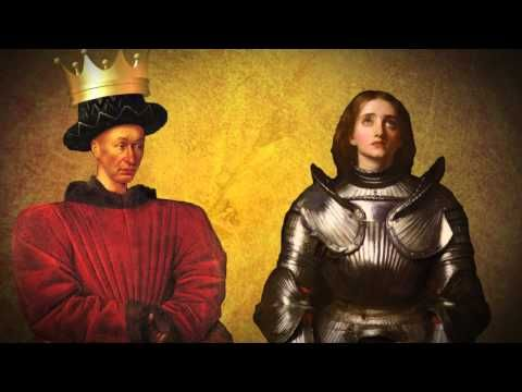 Joan of Arc and the Hundred Years War - Christian History Made Easy - YouTube