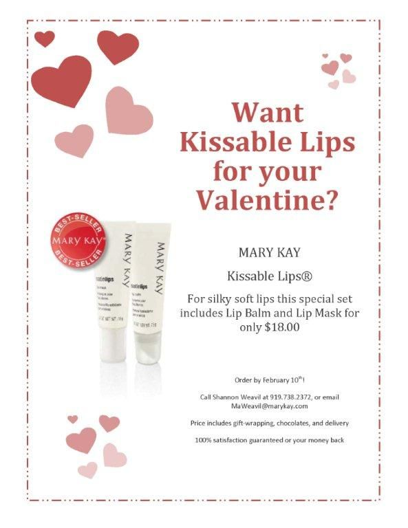 Love the Mary Kay Satin Lips Lip Mask and Lip Balm! Order now at www.marykay.com/vanessamckenzie