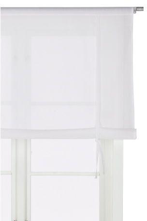 Läpikuultavaa puuvillavoileeta, joka päästää valon sisälle, mutta antaa näkösuojaa. Pesu 40°. Rullautuva. Yläreunassa kuja verhotangolle. Rullataan ylös kahdella solmittavalla nauhalla. Korkeus 100 cm. Ilmoita leveys kun tilaat. <br><br>