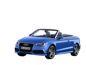 2014 Blue Audi Convertible A3 Cabriolet - Clear Transparent PNG Images - clearPNG
