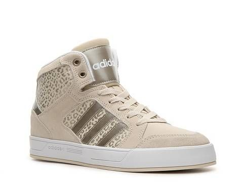 adidas neo gold high tops