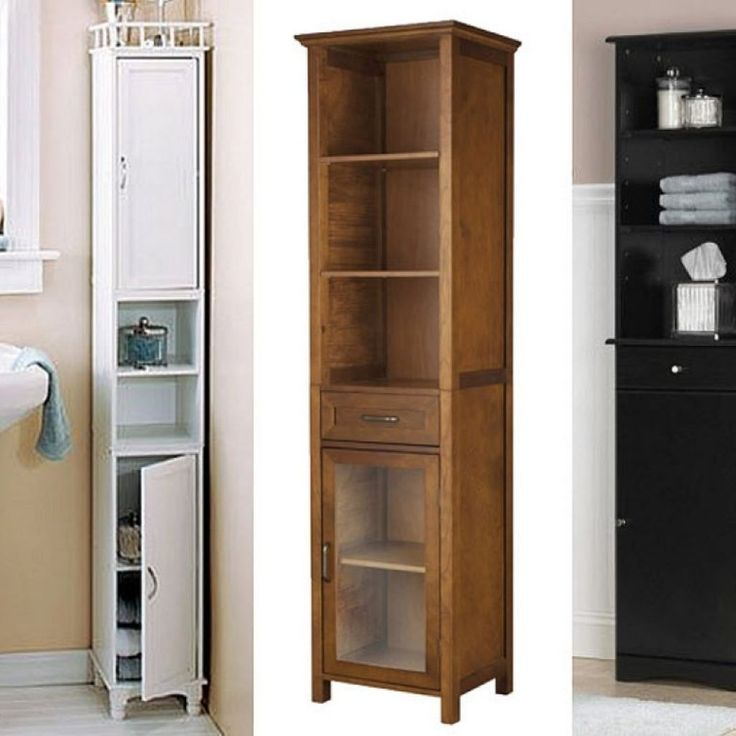 Tall Bathroom Storage Cabinet With Drawers