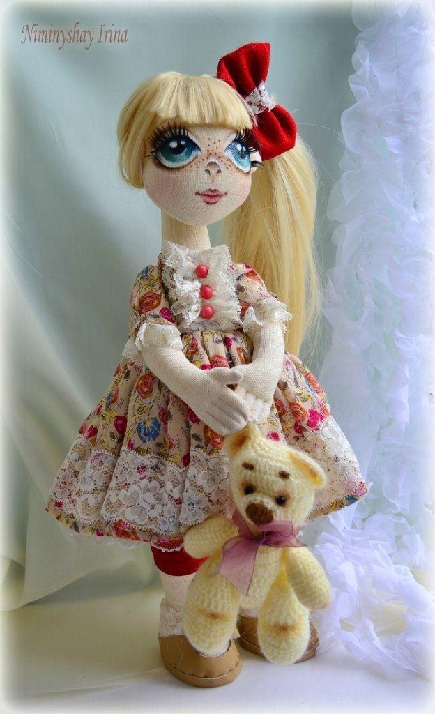 Текстильные куклы Ирины Ниминущей – 39 фотографий