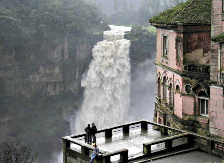 Awesome Tequendama Falls, Bogata, Columbia