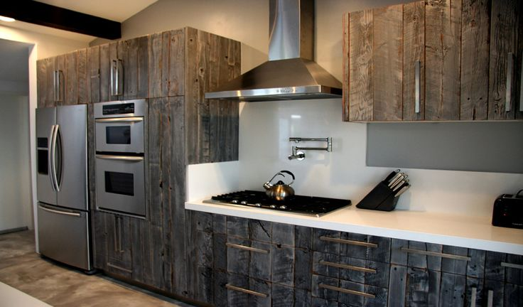 Barn Siding Cabinets By Semi Handmade For The Home