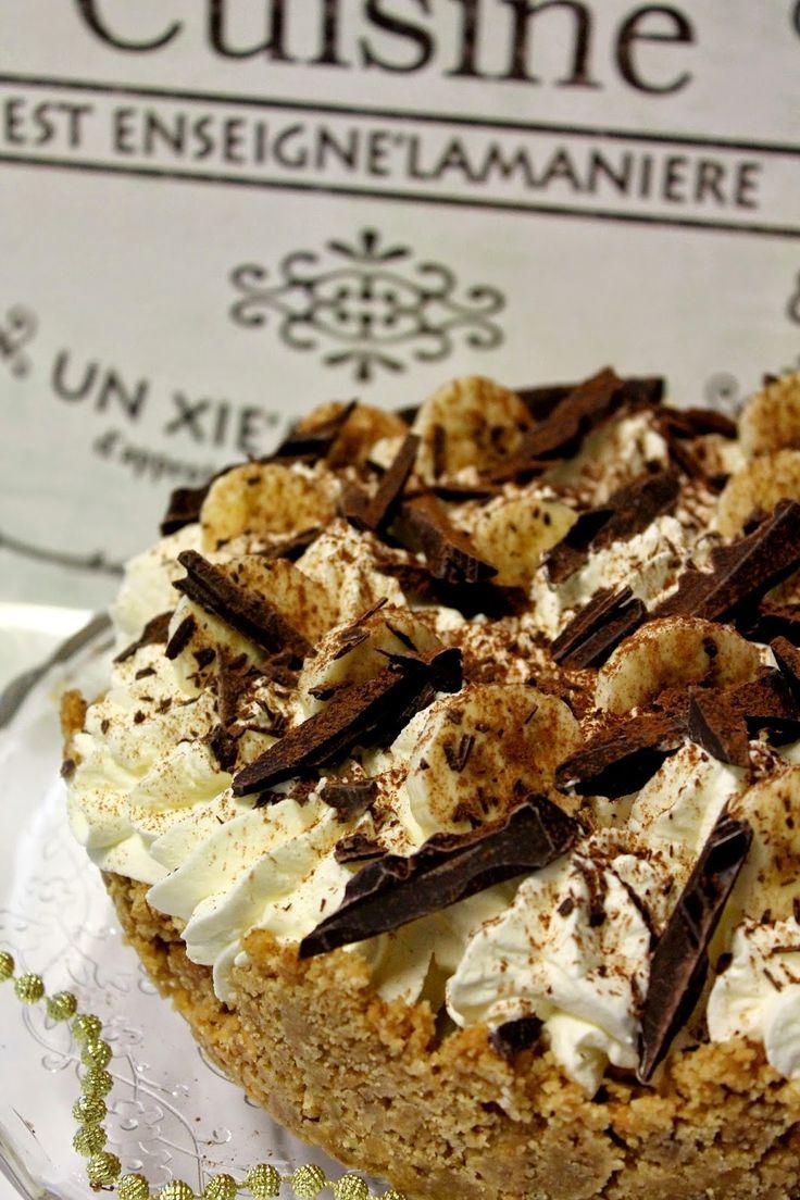 Kakkuviikarin vispailuja!: Banoffee Pie