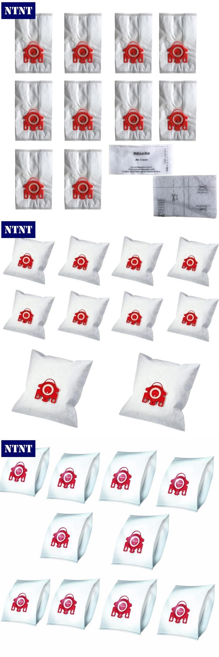 [Visit to Buy] NTNT 10Pcs/Lot For MIELE FJM C1 & C2 Synthetic Type Hoover Hepa Vacuum Cleaner DUST BAGS With 4pcs FILTERS #Advertisement