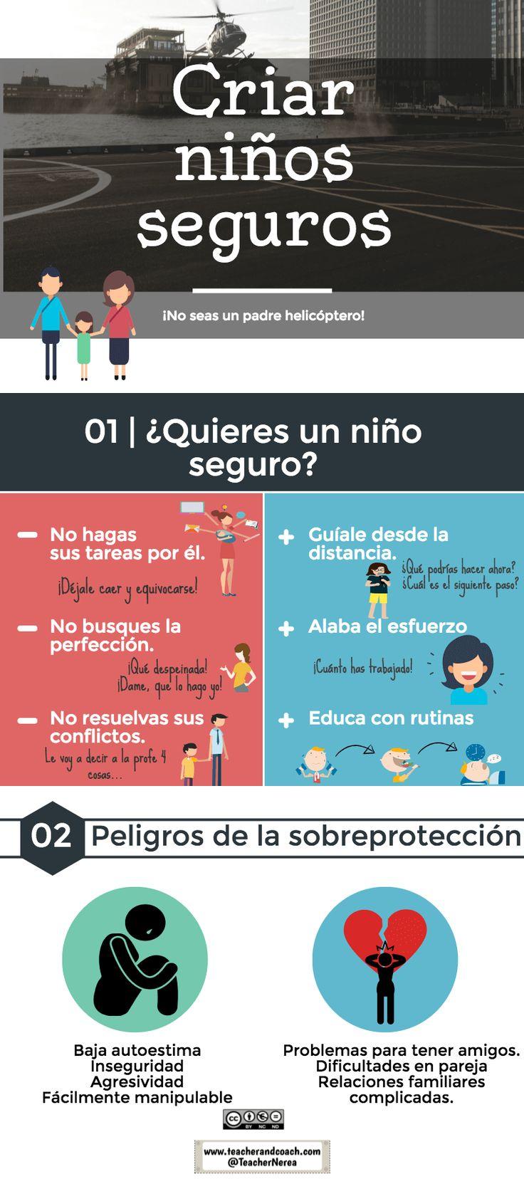 consejos para criar niños seguros y peligros de la sobreprotección