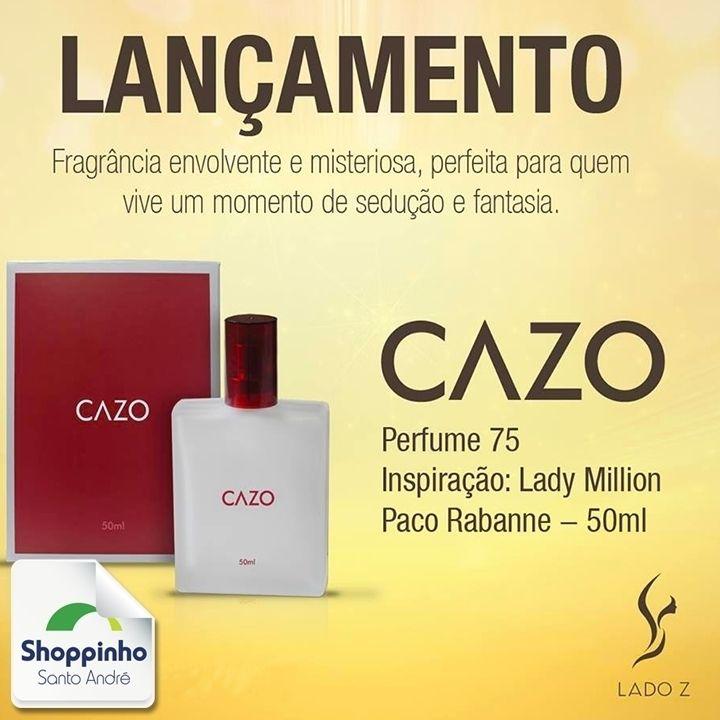 Mais um lançamento na LADO Z, você não pode perder!   #Perfume #Love #LadoZ #ShoppinhoSantoAndré #Fragancia