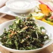 Kale and Pecorino Salad with Black Cherry Balsamic-Saratoga Olive Oil Company