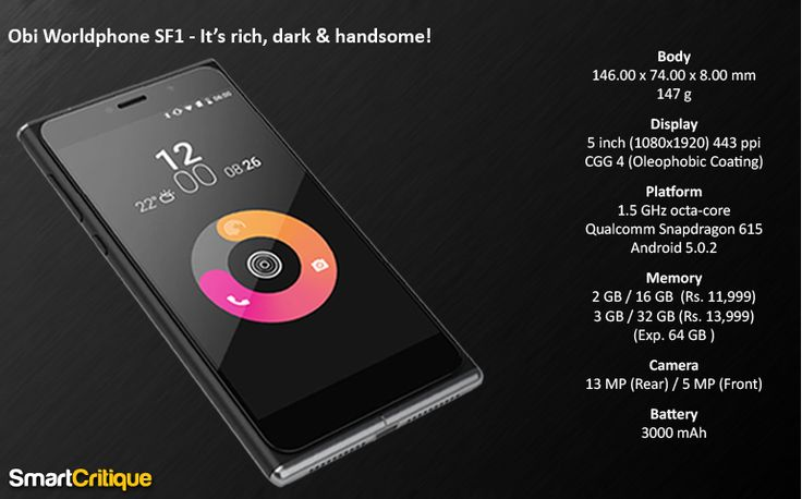 Obi Worldphone SF1 makes a quiet India entry
