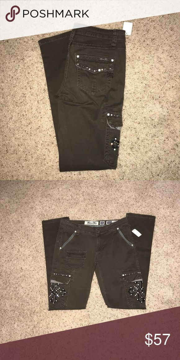 Jeans New condition Miss Me Jeans Straight Leg
