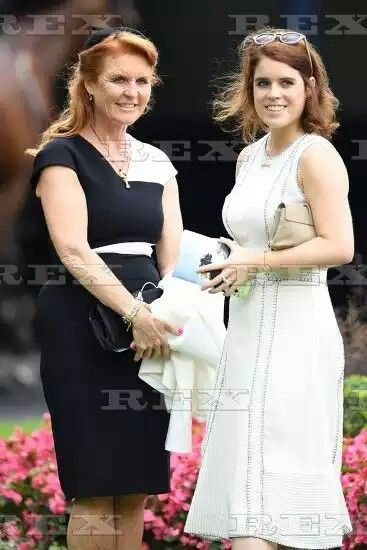 Ascot Racing, UK - 23 Jul 2016 Sarah Ferguson Duchess of York and Princess Eugenie 23 Jul 2016