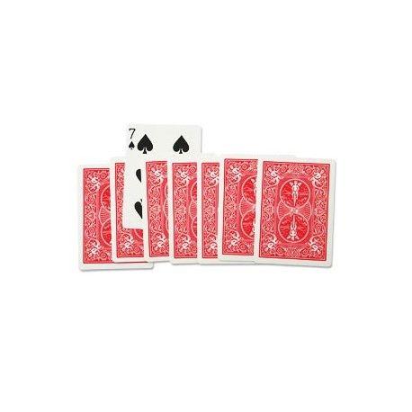 8 Cartas milagrosas (eight card miracle) un efecto fácil e impactante para el público...