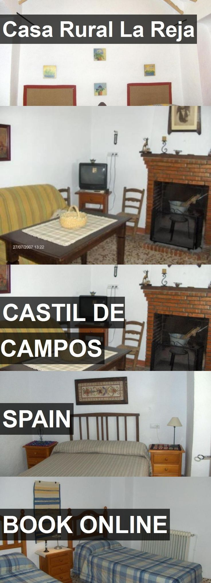 Hotel Casa Rural La Reja in Castil de Campos, Spain. For more information, photos, reviews and best prices please follow the link. #Spain #CastildeCampos #travel #vacation #hotel