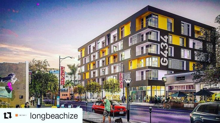 More residential developments in Long Beach? You bet. This is a rendering of the planned residential development on 4th and Linden in the East Village of Long Beach. Definitely one to keep an eye out on. : @longbeachize  Find out more about Real Estate and life in the Long Beach area at: http://ift.tt/2jVDgDz  #longbeach #carson #cerritos #signalhill #torrance #lakewood #cypress #downey #bellflower #norwalk #wilmington #artesia #gardena #lapalma #california #realestate #realtor #homes…